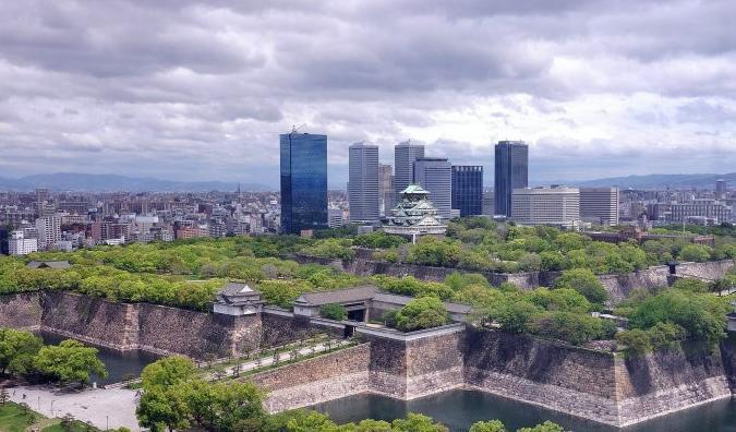 大阪城公园图片