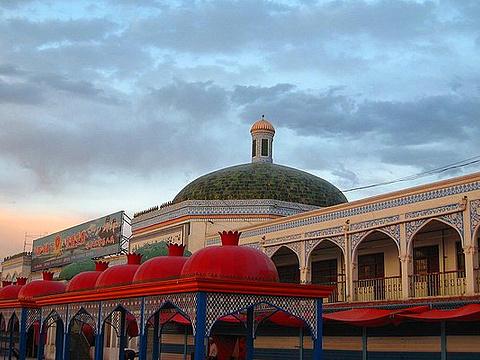喀什大巴扎旅游景点图片