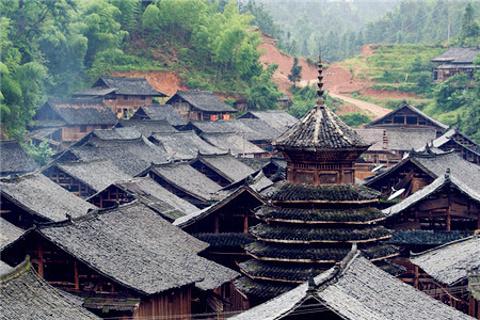 宰荡侗寨的图片