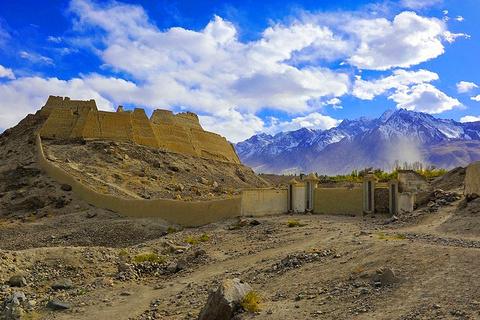 喀什古石头城