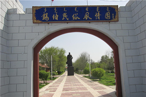 锡伯民族博物院的图片
