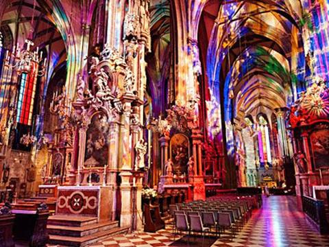 斯蒂芬大教堂旅游景点图片