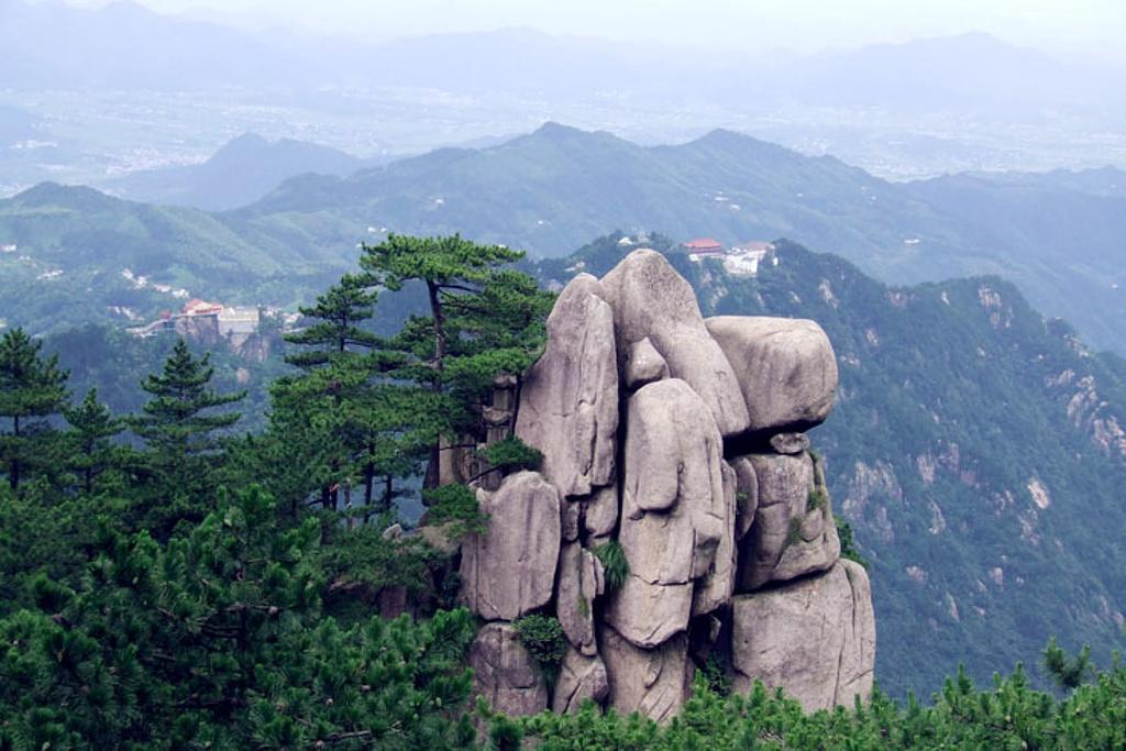 九华山旅游导图