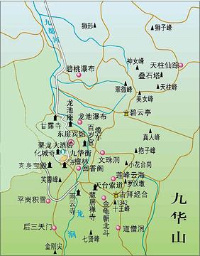 九华山旅游景点图片