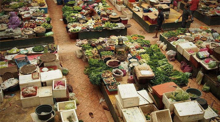 哥打巴鲁中央市场旅游图片