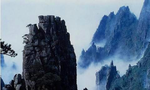 石柱峰的图片