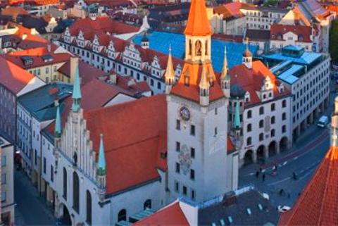 慕尼黑旧市政厅的图片