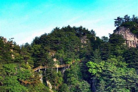 尧山风景区的图片