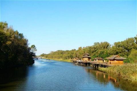 太平河风光带景区