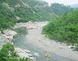 西岭峡谷漂流