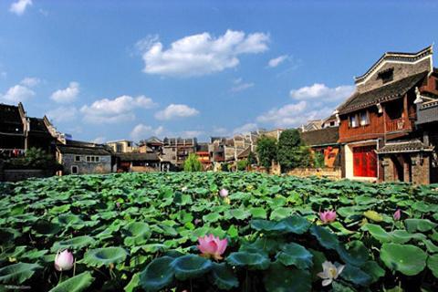 乾州古城的图片