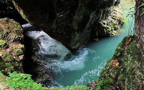 龙洞峡的图片
