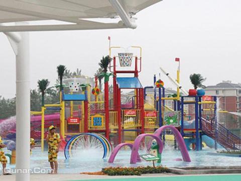 宿迁泗阳热带风暴水上乐园旅游景点图片