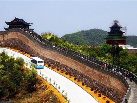 黄贤海上长城森林公园旅游景点图片