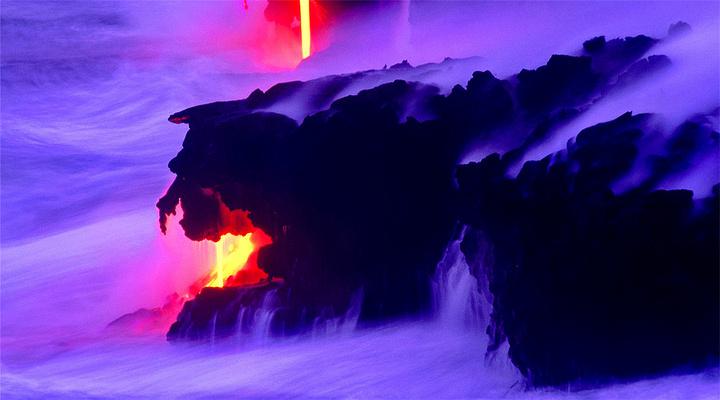 夏威夷火山国家公园旅游图片