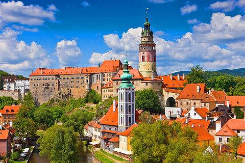 克鲁姆洛夫城堡的图片