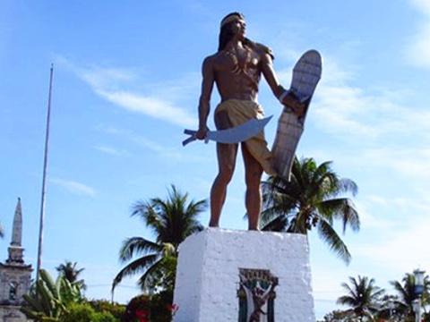 拉普拉普酋长像旅游景点图片