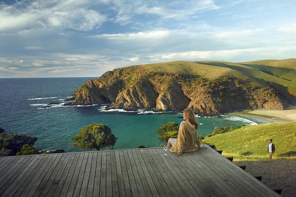 世外桃源袋鼠岛旅游图片