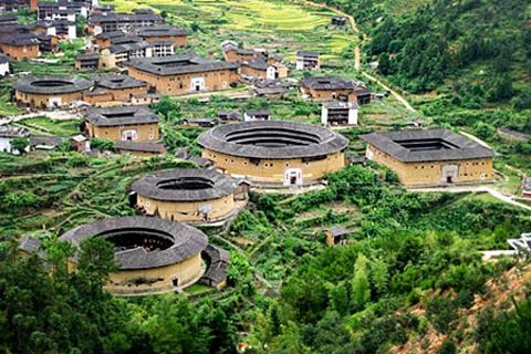 中川古村落的图片