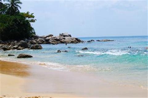 新呷海滩的图片