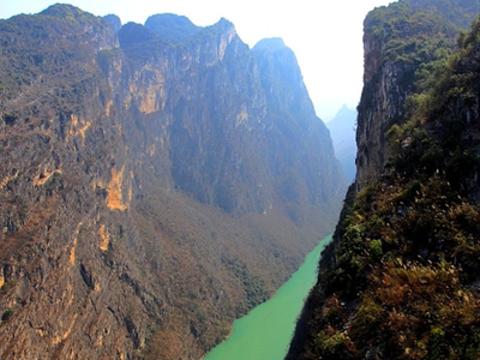 鲁布革三峡风景区旅游景点图片