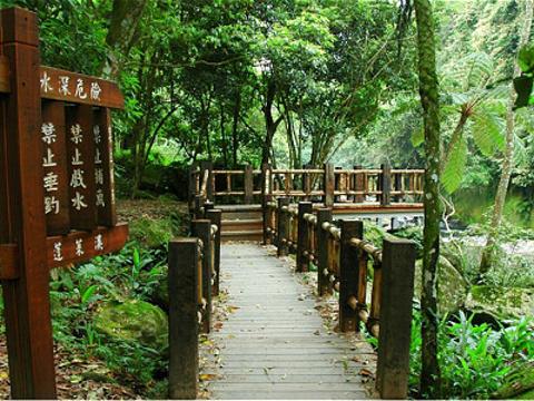 蓬莱溪自然生态园区旅游景点图片