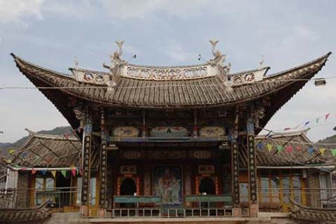 双廊古戏台