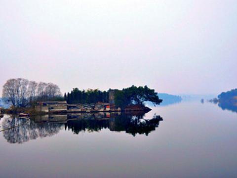 玉带湖旅游景点图片