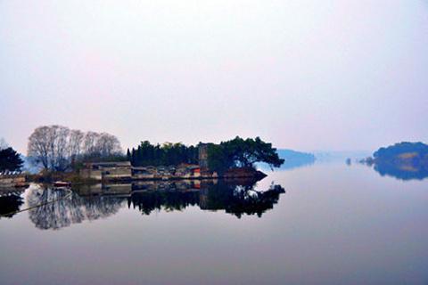 玉带湖的图片
