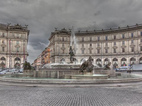 共和广场旅游景点图片