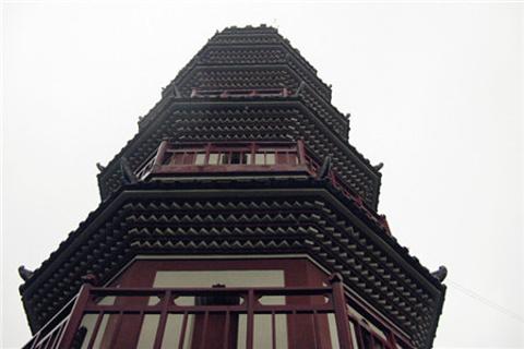 阜峰文塔的图片