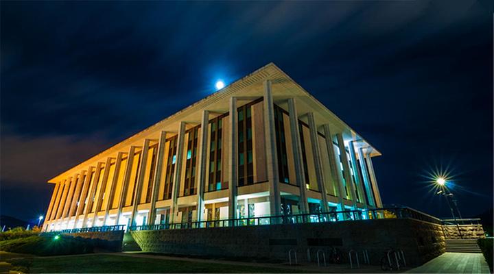 澳大利亚国家图书馆旅游图片