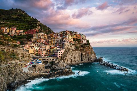 五渔村旅游图片