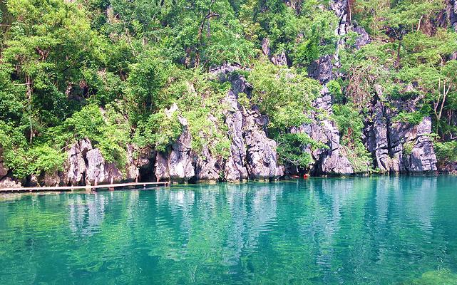 双子泄湖旅游图片