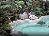 冰川温泉池