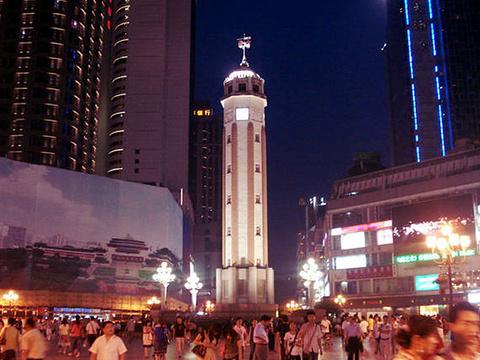 解放碑步行街旅游景点图片