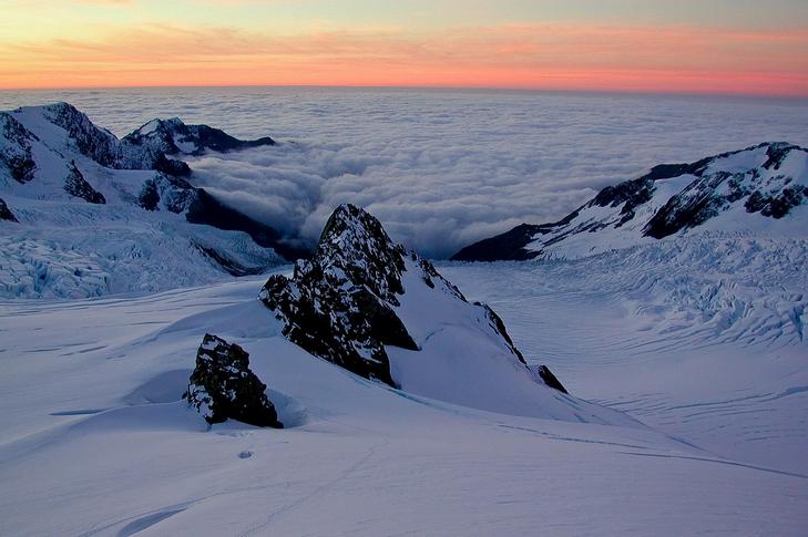 福克斯冰川探险一日游