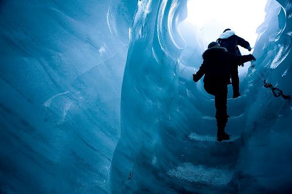 福克斯冰川徒步旅游图片