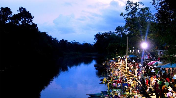 合艾水上市场旅游图片