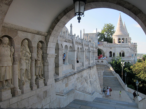 布达城堡迷宫旅游景点图片