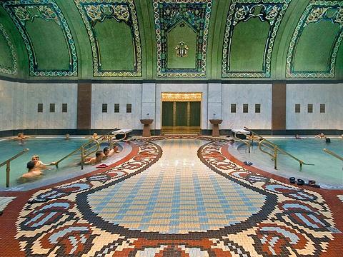 盖莱尔特温泉浴室旅游景点图片