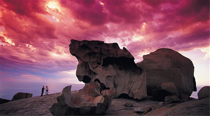 神奇岩石旅游图片