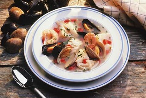 海鲜杂碎汤