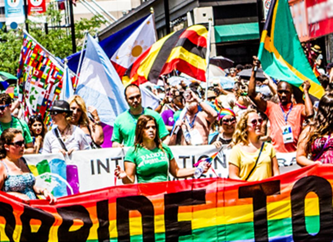 多伦多同性恋自豪大游行 Pride Parade