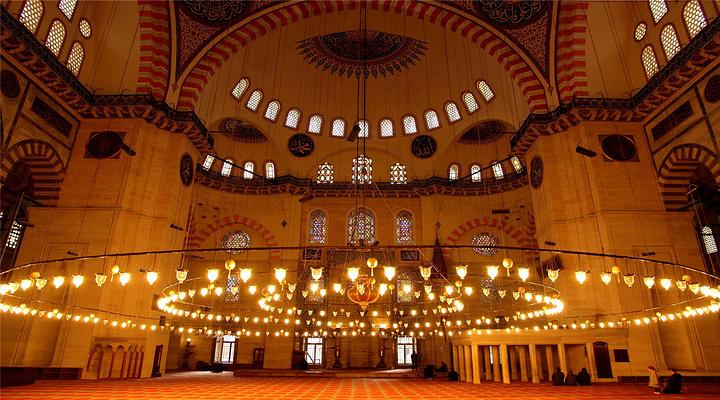 苏莱曼清真寺旅游图片