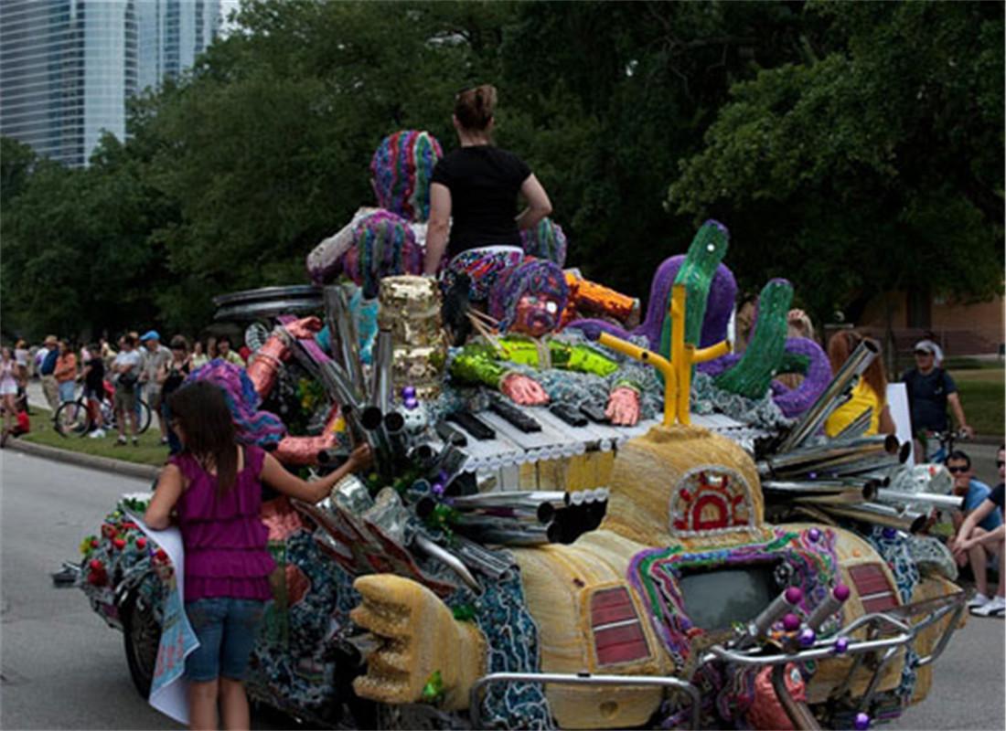 休斯顿艺术车展(Art Car Parade)