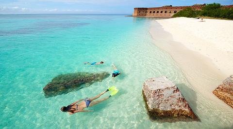 西礁岛旅游图片