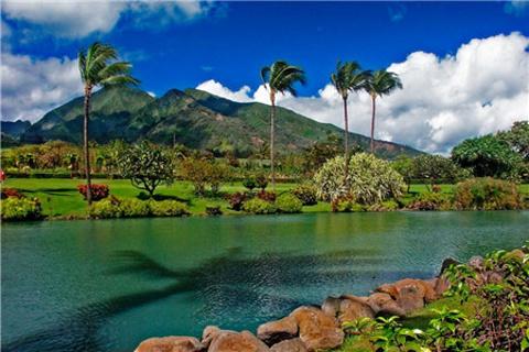 毛伊岛热带植物园