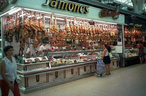 中央市场的图片