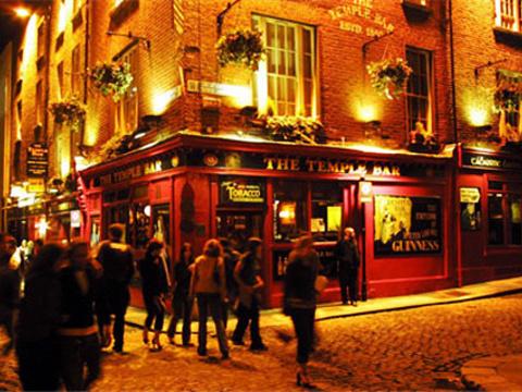 圣殿酒吧区旅游景点图片